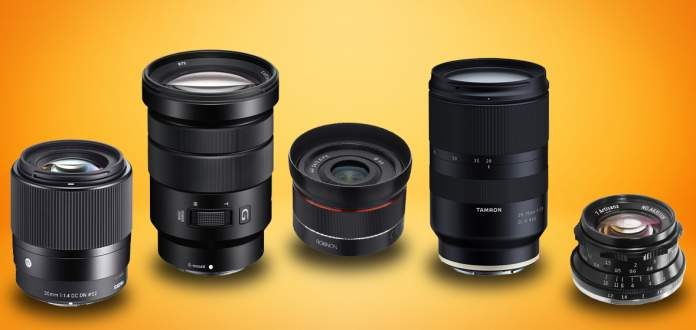 must-have lenses for Sony A6400